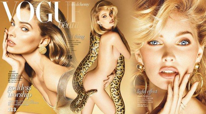 Elsa Hosk – Vogue Magazine Naked Photoshoot (February 2019)