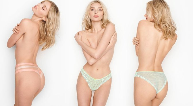 Elsa Hosk – Victoria's Secret Lingerie Photoshoot