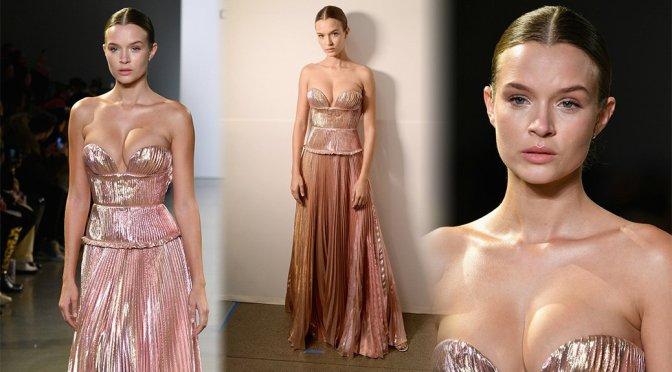 Josephine Skriver – Cong Tri Fashion Show in New York