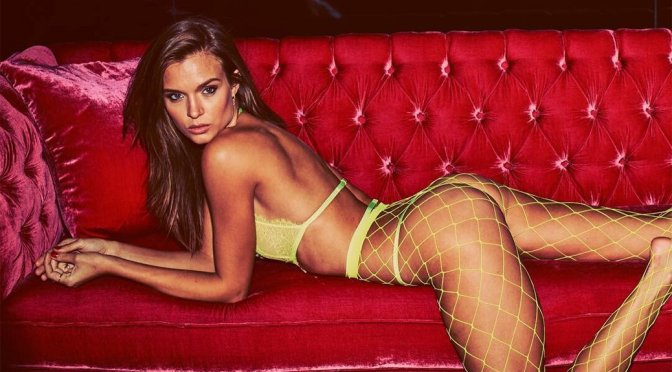 Josephine Skriver – Lingerie Photoshoot by Guy Aroch