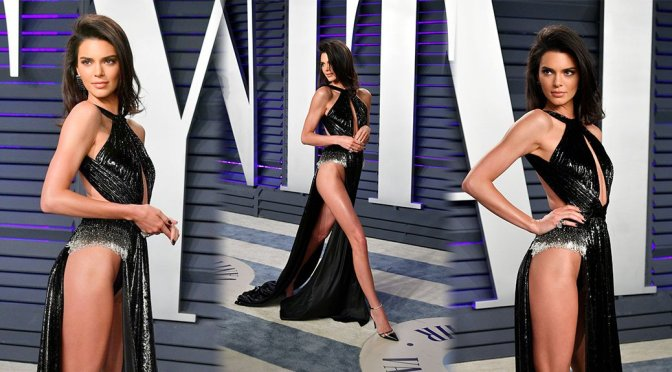 Kendall Jenner – 2019 Vanity Fair Oscar Party in Beverly Hills