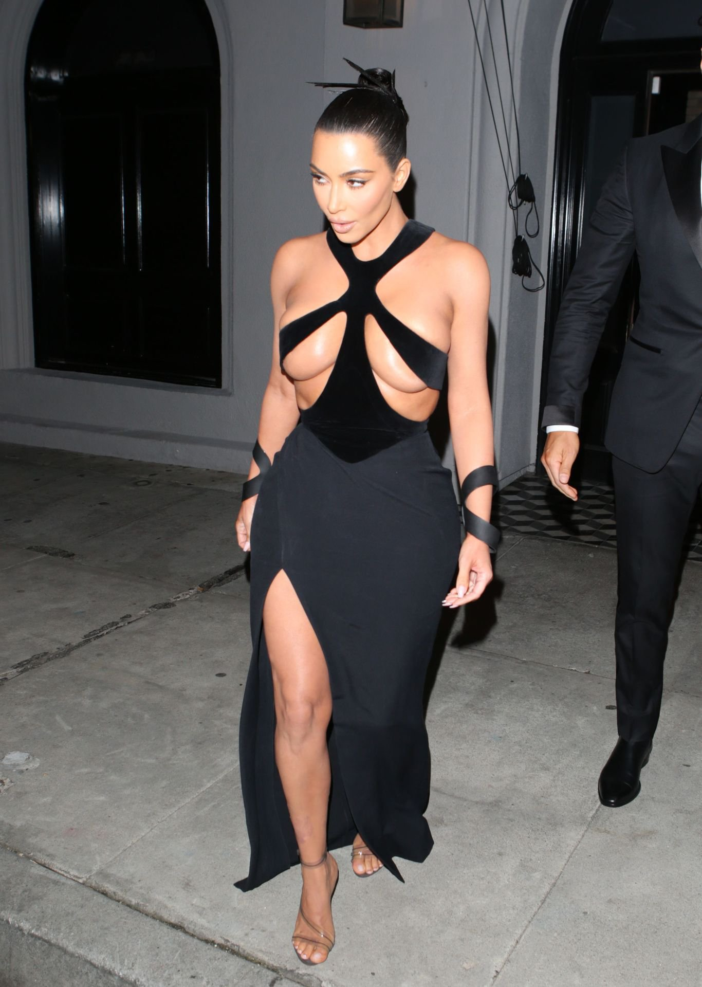 Kim Kardashian Hot Revealing Dress