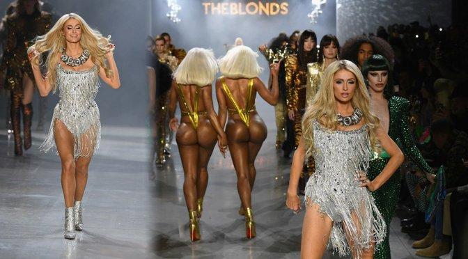 Paris Hilton Sexy Catwalk