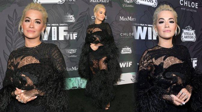 Rita Ora – 12th Annual Women In Film Oscar Party in Beverly Hills