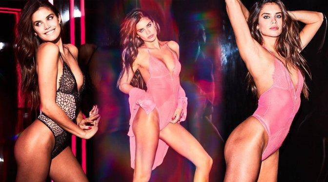 Sara Sampaio – Victoria's Secret Lingerie Photoshoot