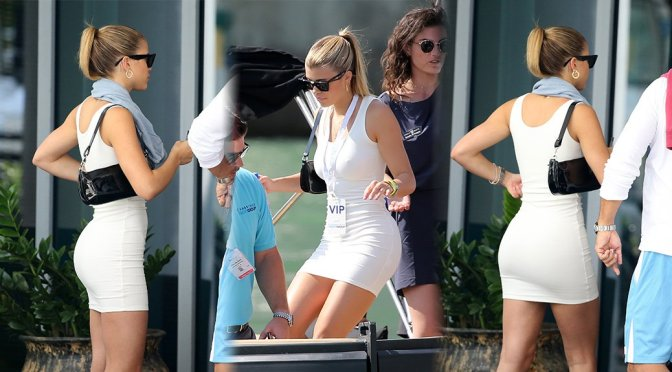 Sofia Richie – Sexy Candids in Miami