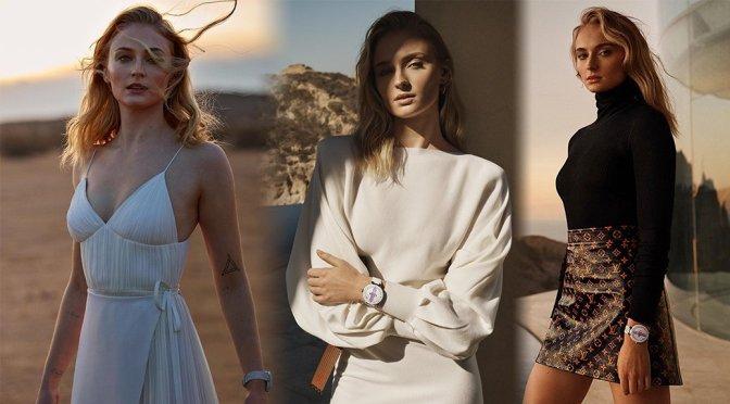 Sophie Turner – Louis Vuitton Tambour Horizon Campaign