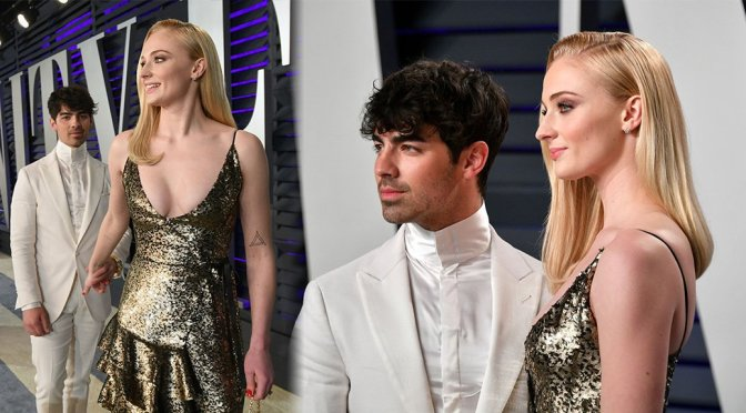 Sophie Turner – 2019 Vanity Fair Oscar Party in Beverly Hills