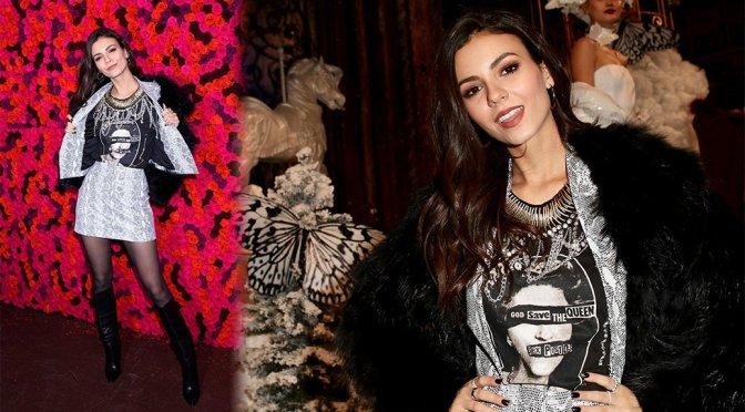 Victoria Justice – Alice + Olivia fashion show in New York