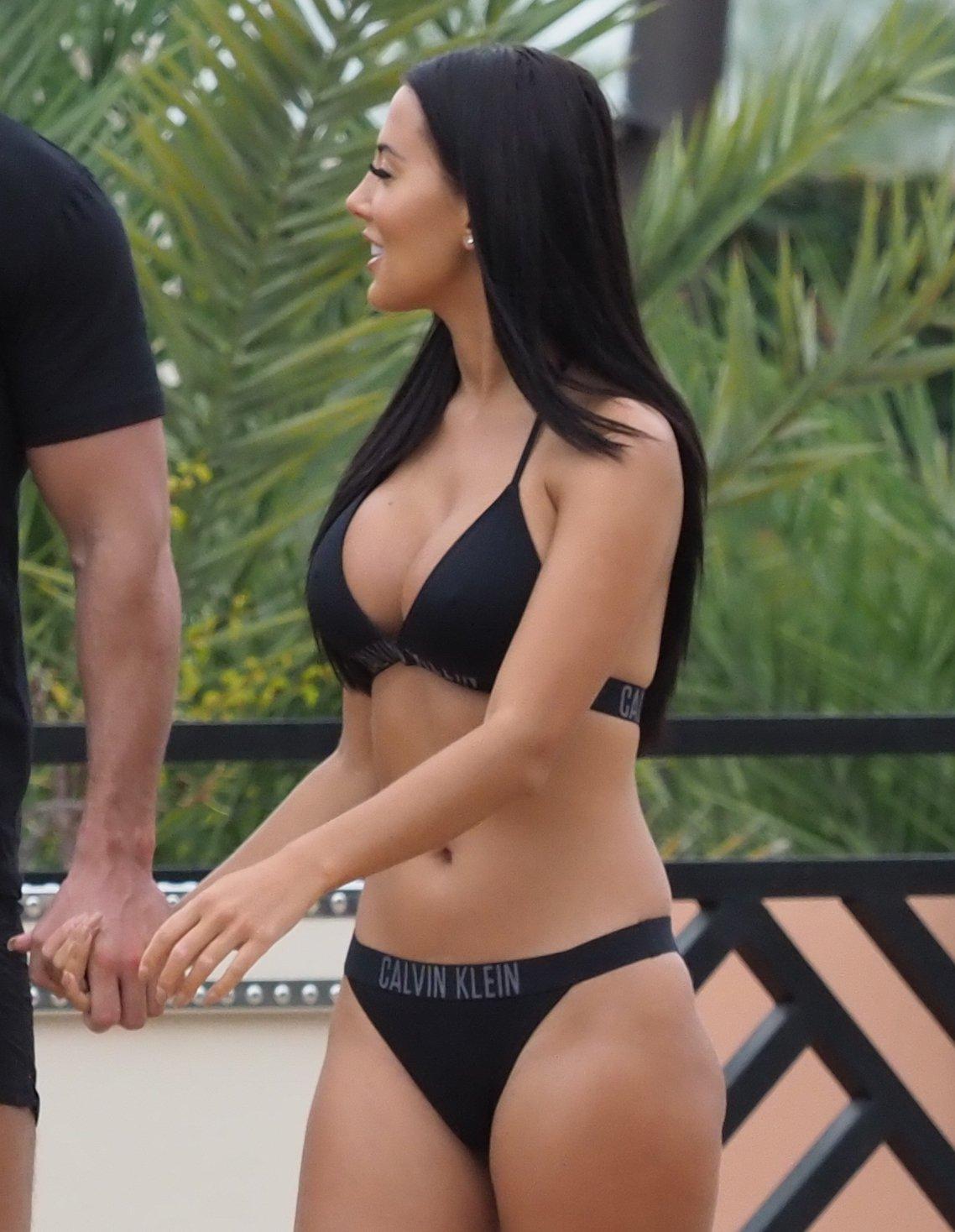 Yazmin Oukhellou Sexy Bikini Body