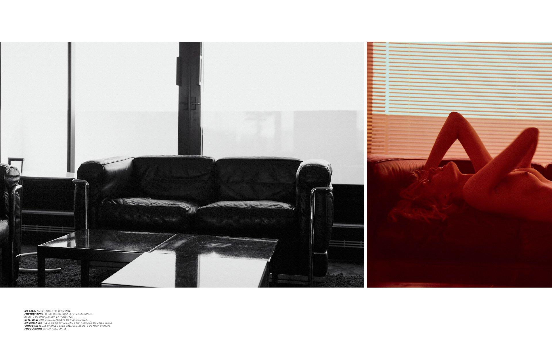 Amber Valletta Naked