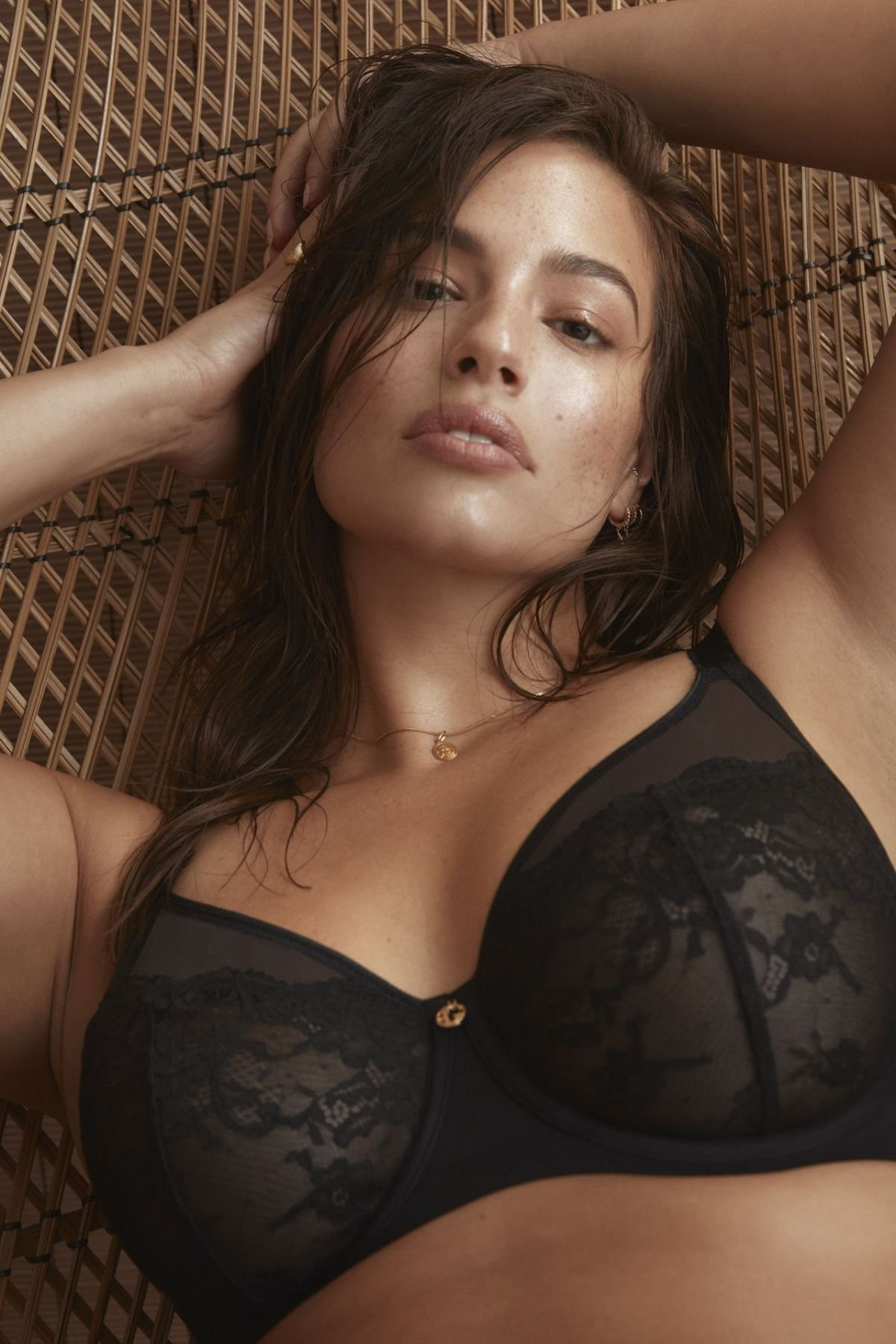 Ashley Graham Sexy Lingerie Photoshoot