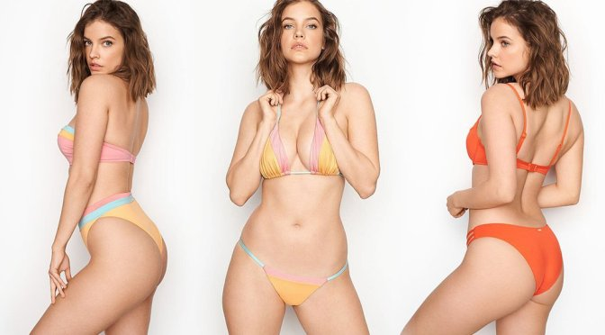 Barbara Palvin Hot In Victoria's Secret Lingerie