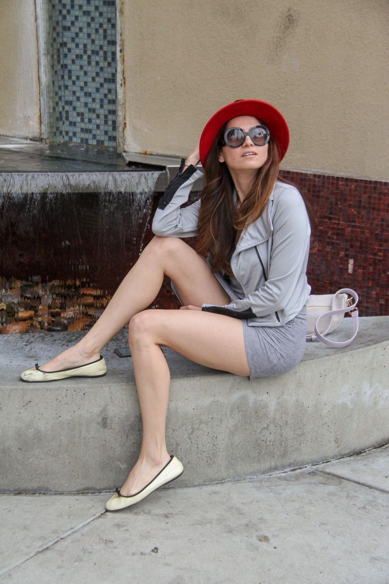 Blanca Blanco – Upskirt Candids in Beverly Hills