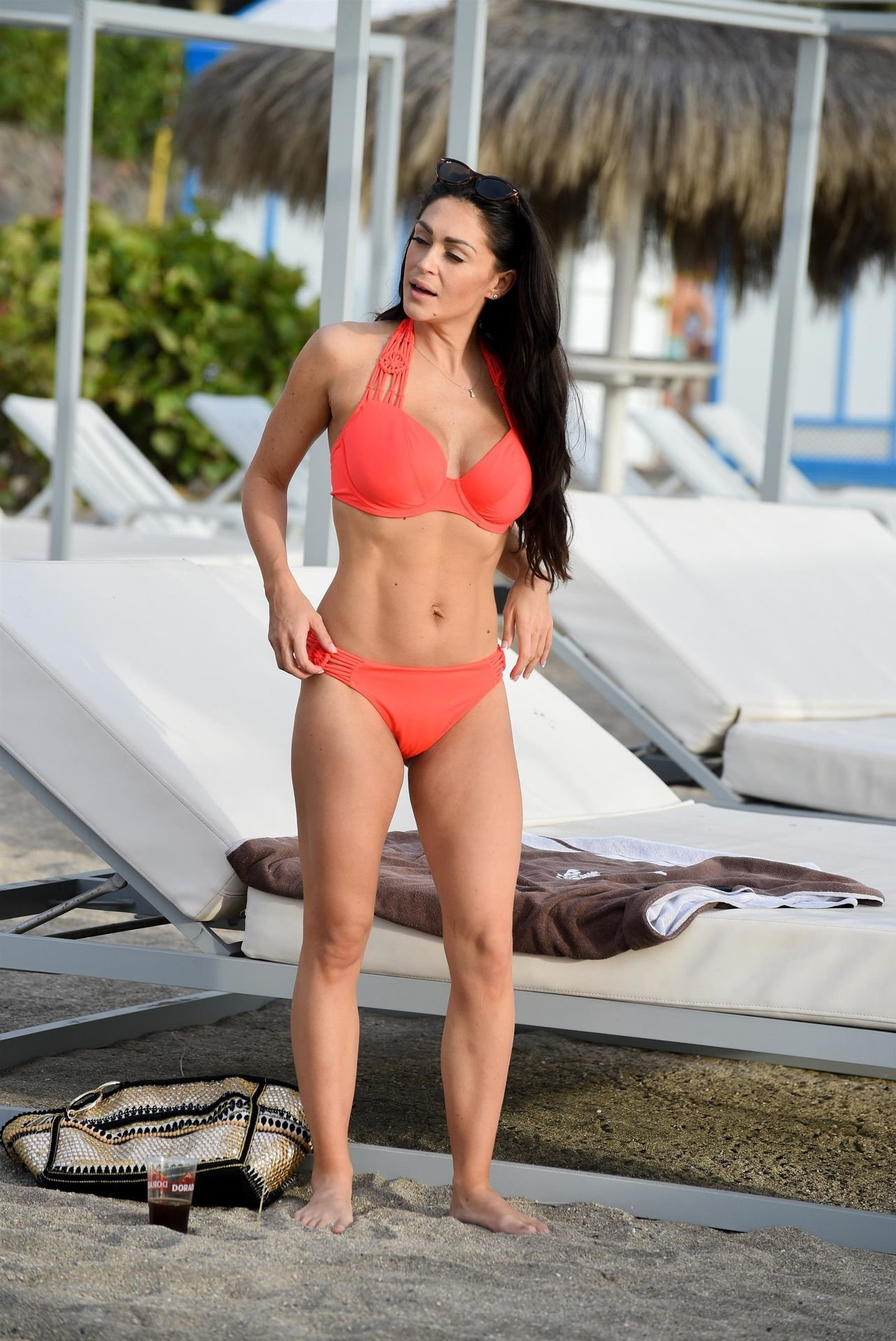Casey Batchelor Orange Bikini