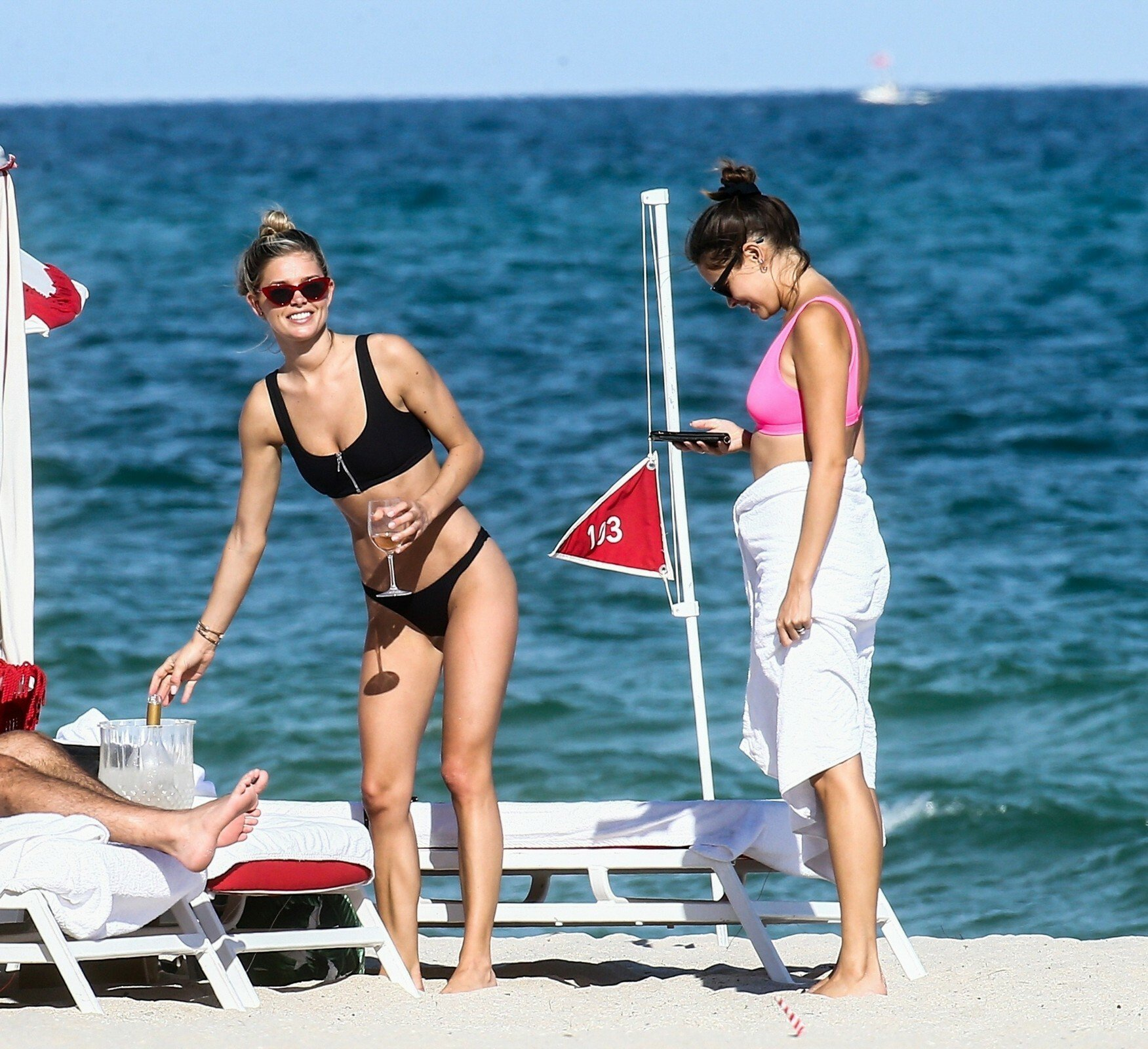 Danielle Knudson Thong Bikini