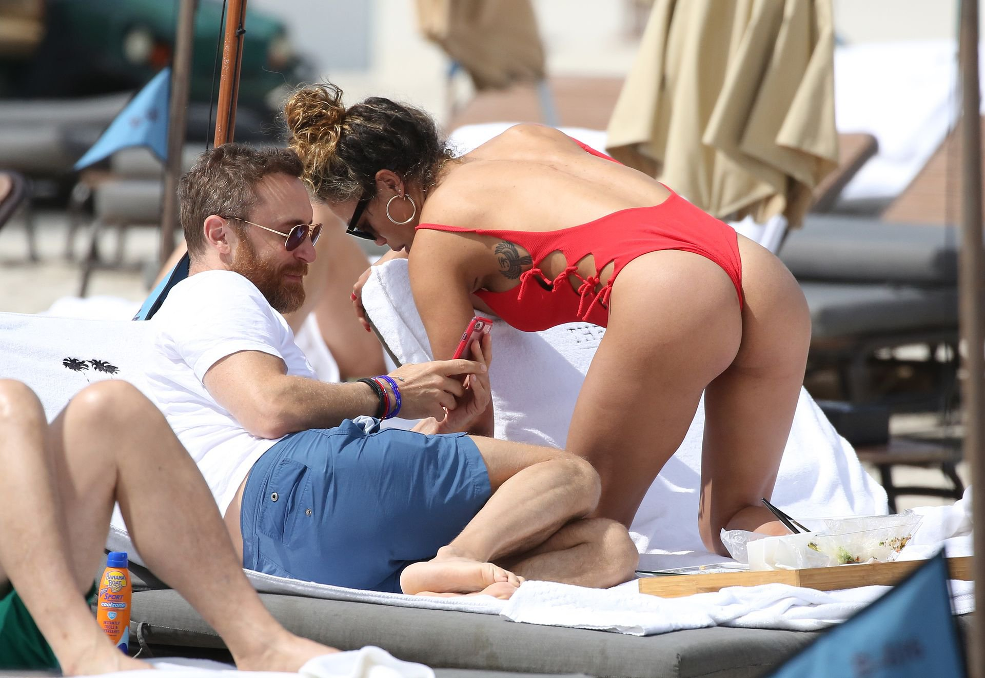 Jessica Ledon – Swimsuit Candids in Miami (Nipslip)