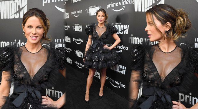 """Kate Beckinsale – """"The Widow"""" Premiere in New York"""