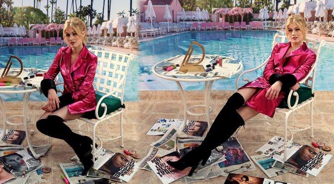 Katherine McNamara – Daily Front Row Fashion Awards Photobooth