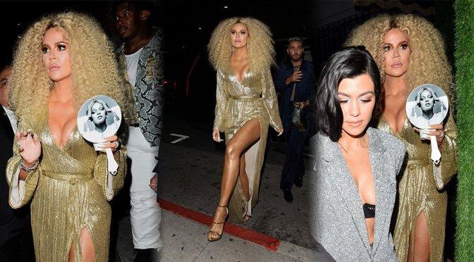 Khloe Kardashian – Sexy Candids at Warwick nightclub in Hollywood