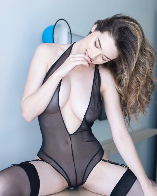 Lauren Summer See Through Lingerie