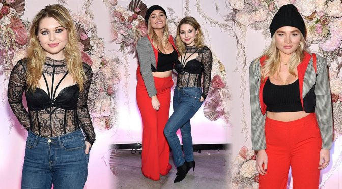 Sammi Hanratty & Natalie Alyn Lind – 42Gold Collection Celebration in West Hollywood