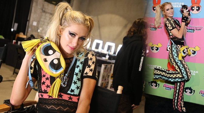Paris Hilton – Powerpuff Girls Fashion Show in Los Angeles