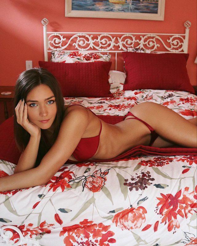Rachel Cook Red Bikini