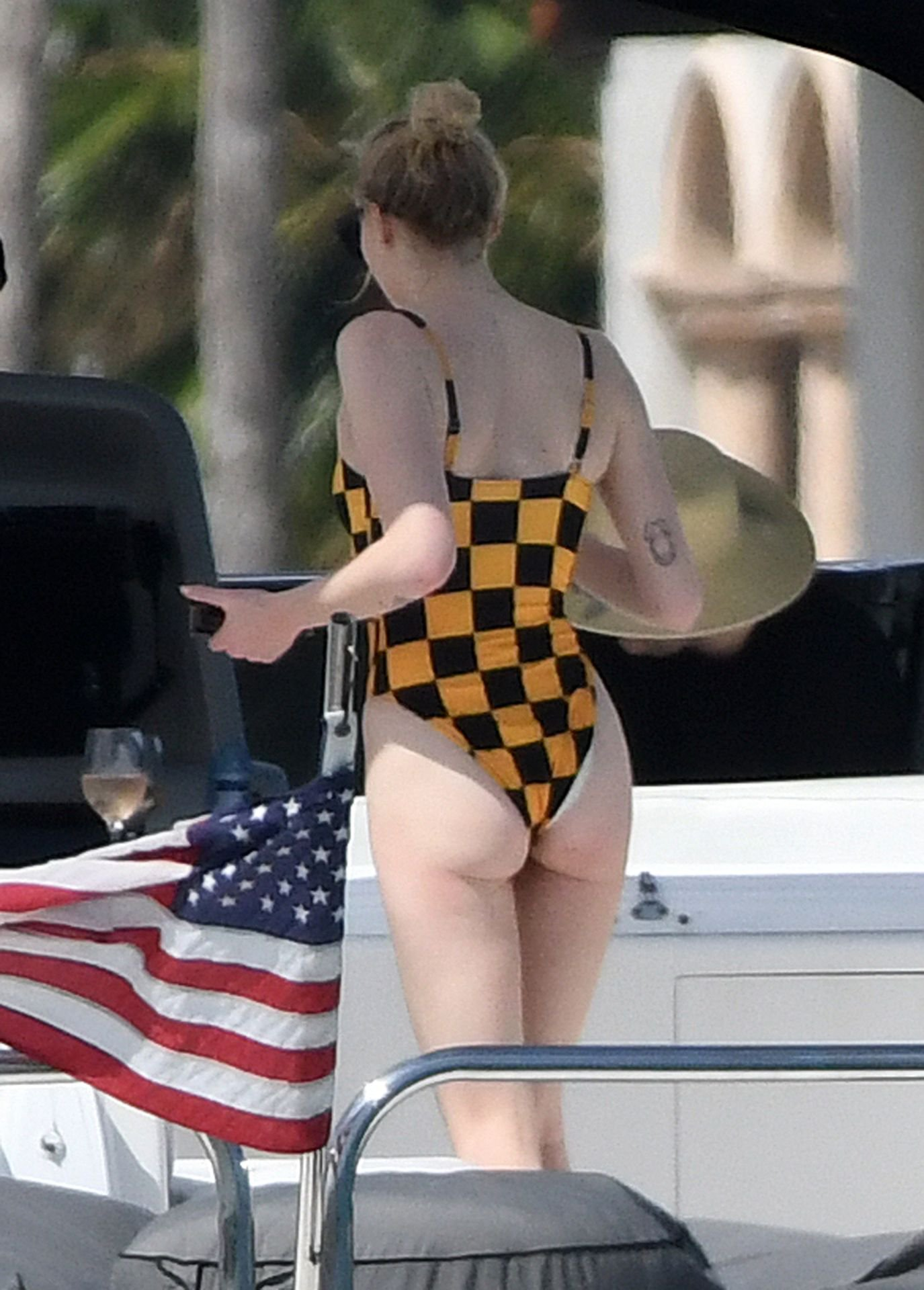 Sophie Turner Sexy Swimsuit