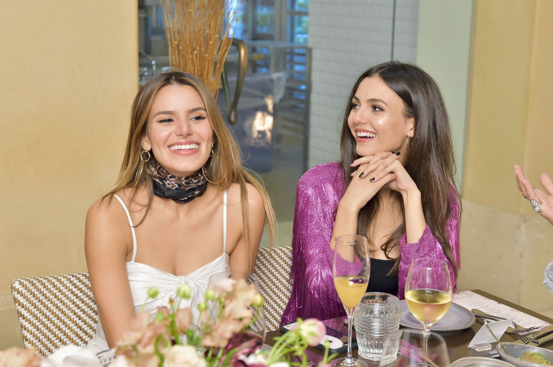 Victoria Justice & Madison Reed – Box of Style by Rachel Zoe Dinner in Beverly Hills