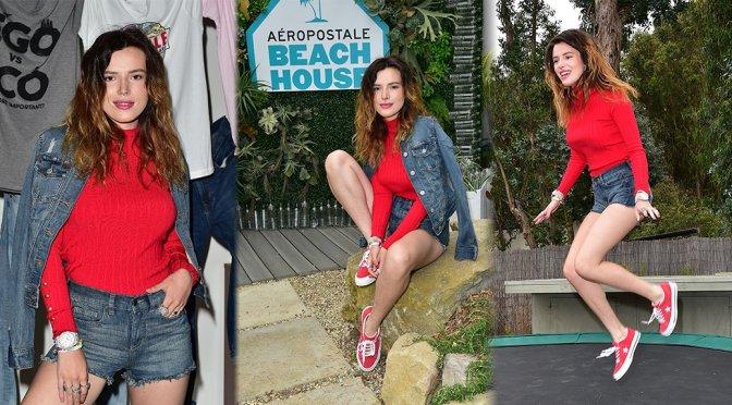 Bella Thorne – #AeroBeachHouse by Aeropostale in Malibu
