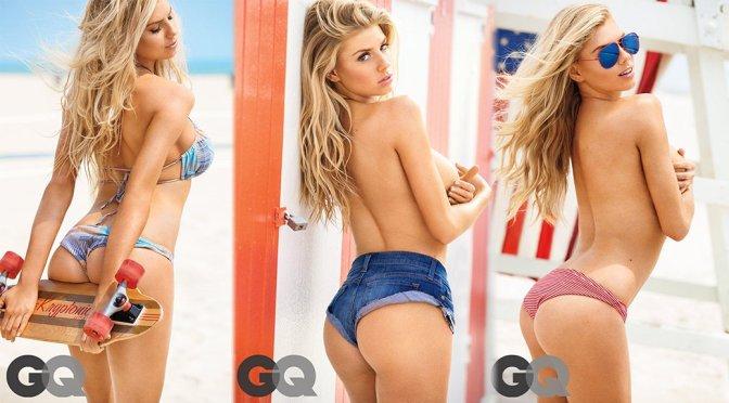 "Charlotte McKinney – GQ ""Girl of Summer"" Bikini Photoshoot (July 2015)"