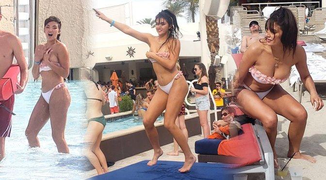 Hailee Lautenbach – Sexy Bikini Candids at the pool in Las Vegas