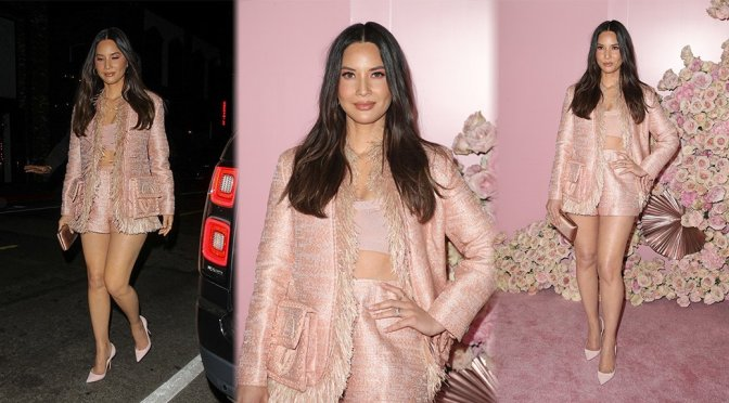 Olivia Munn – Patrick Ta Beauty Launch Party in Los ANgeles