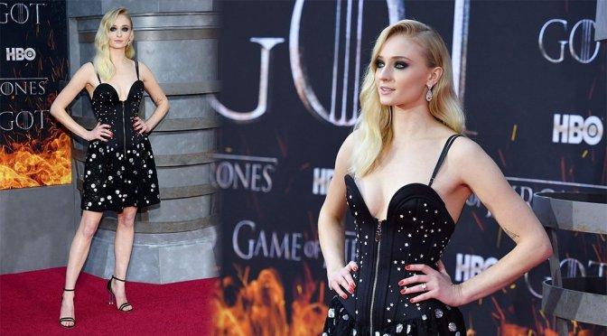 """Sophie Turner – """"Game Of Thrones"""" Season 8 Premiere in New York"""