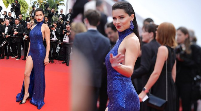 """Adriana Lima – """"Oh Mercy!"""" Premiere in Cannes"""