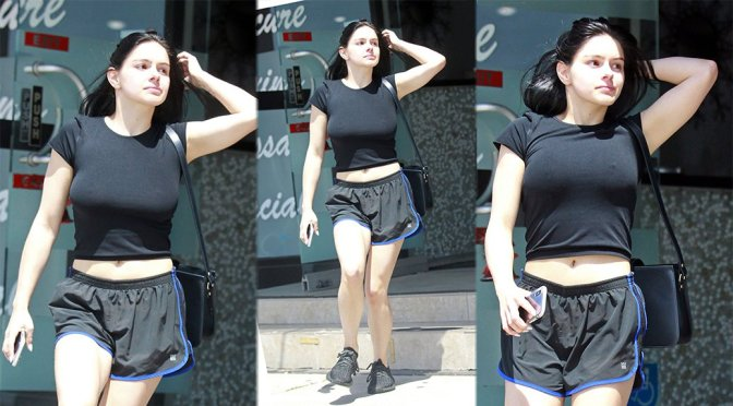 Ariel Winter – Busty Braless Candids in Los Angeles