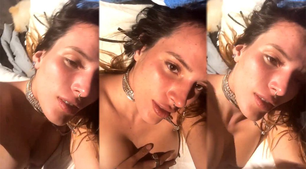 Bella Thorne - Topless Video