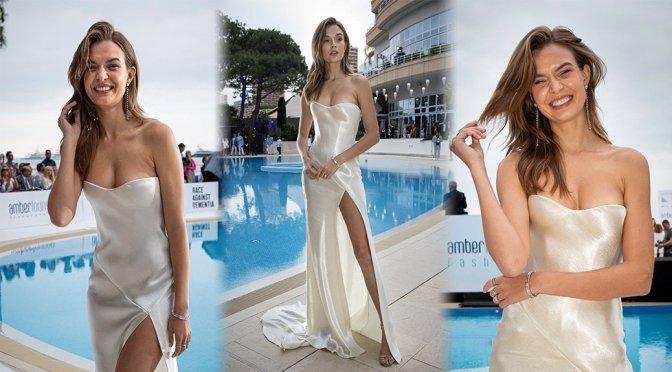 Josephine Skriver – Amber Lounge 2019 Fashion Show in Monaco
