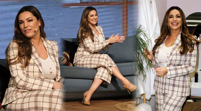 "Kelly Brook – ""This Morning Live"" Show in Birmingham"