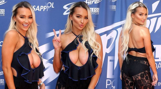 Lindsey Pelas – Big Celavage at Sapphire Pool and Dayclub in Las Vegas