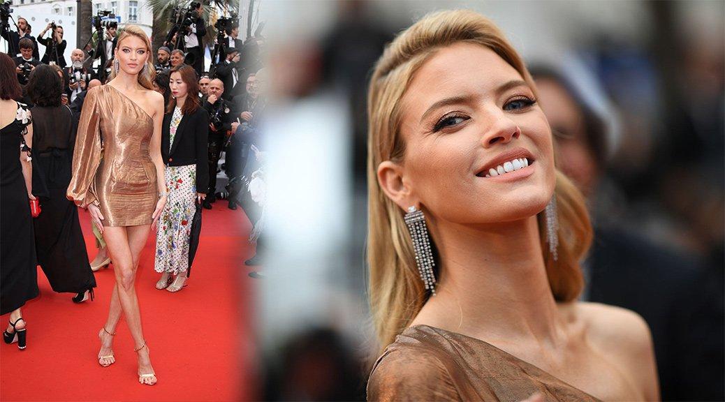 """Martha Hunt - """"Les Plus Belles Annees D'Une Vie"""" Premiere in Cannes"""