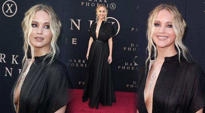 """Jennifer Lawrence – """"Dark Phoenix"""" Premiere in Hollywood"""
