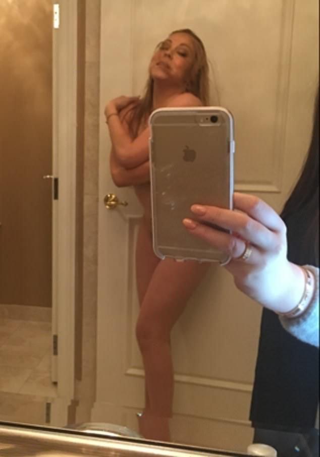 Mariah Carey Private Naked Pic
