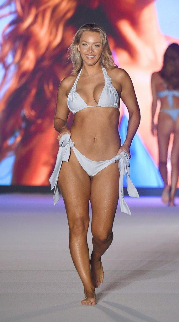 bikini photoshoot pin Camille