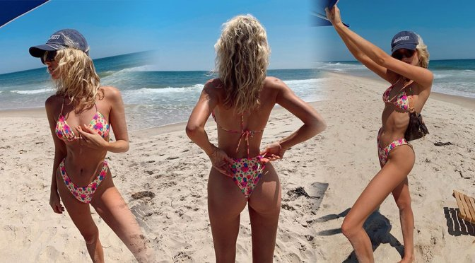Elsa Hosk - Sexy Bikini Personal Photoshoot in Hamptons