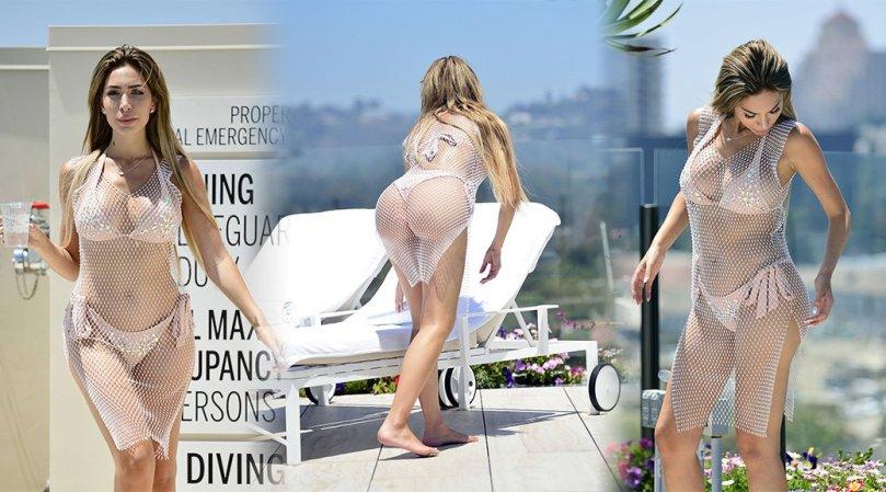 Farrah Abraham Sexy Body In A Bikini