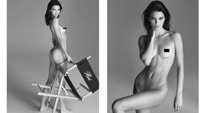Kendall Jenner - naked & Topless Photoshoot (Censored)