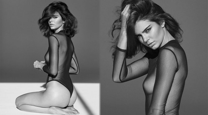 Kendall Jenner – Sexy See-Through Photoshoot by Rusel James