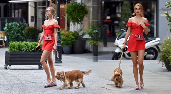 Kimberley Garner - Sexy Candids in London